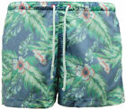 Mens H&M Floral Beach Swim Shorts - E21