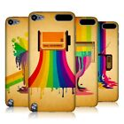 HEAD CASE DESIGNS COLOUR DRIPS HARD BACK CASE FOR APPLE iPOD TOUCH 5G 5TH GEN