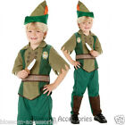CK338 Child Peter Pan Disney Costume World Book Day Week Boys Fancy Dress Outfit