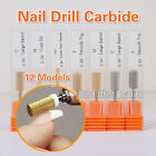 Pro Electric   Nail Art Drill File Broach Bit Replacement #3/32