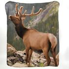 FLEECE SOFT THROW BLANKET MOUNTAIN ELK DOLPHIN BOY GIRL MOM VALENTINES DAY GIFT