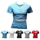 Men's Fashion Stylish Short Sleeve Slim Casual Basic Tee T-Shirts M/L/XL/XXL HOT