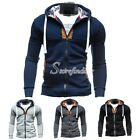Men's Stylish Spring Autumn Sexy Slim Hoodies Jackets Outwear Coats M L XL XXL