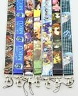 Wholesale Mixed Classic Japanese anime Mobile Cell Phone Lanyard Neck Straps E31
