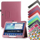 Flip Folio PU Leather Case Cover For Samsung Galaxy Tab 3 10.1 inch P5200 P5210
