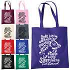 Soft Kitty Warm Kitty Shopper Tote Bag Funny Big Bang Theory Sheldon Penny Bags
