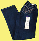 Womens Wrangler Q-Baby Booty Up WRQ25ST Mid Rise Boot Cut Jeans Size 11/12