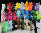 Many Colors FLAT Athletic 27 36 45 54 Inch Sneaker SHOELACES ! shoe lace strings