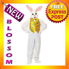 C571 Deluxe Easter Bunny Suit Plush Rabbit Mascot Fancy Dress Up Adult Costume