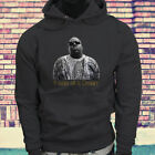 New Biggie Notorious Big It was all a dream Mens Charcoal Hoodie