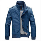 NEW Manly Men's Windcheater Military Sportswear College Polo Jackets Coats US LA