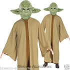 CL373 Yoda Jedi Master Star Wars Halloween Adult Mens Fancy Dress Up Costume