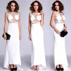 New Slim Women's Backless Dress Lace Wedding Fishtail Evening Party Ball Gowns
