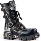 New Rock Boots Unisex Style 107 S2 Silver