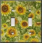 Switch Plates And Outlet Covers - Sunflowers Pattern  - Floral Home Decor