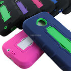 For Motorola Moto E 2 2nd Gen 2015 Rugged Impact Hybrid Hard Case Cover Stand