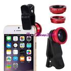 Mobile Phone  Phone Connect 180° Fisheye+Lens Wide+Angle Macro Lens Kit Z
