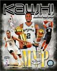 Kawhi Leonard San Antonio Spurs 2014 NBA Finals MVP Photo (Select Size)