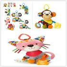 Fashion Child Car Bed Accessories  Hanging Baby Infant Plush Stuffed Toys New Z