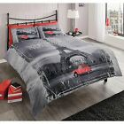 SINGLE DOUBLE AND KING SIZE DUVET COVERS MODERN PARIS EIFFEL TOWER BEDDING NEW