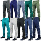 Mens Chino Jeans Jack South Straight Leg Bottoms Regular Fit Trousers Summer New