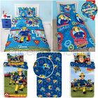 FIREMAN SAM BEDDING & BEDROOM ACCESSORIES – SINGLE JUNIOR DUVETS CURTAINS RUGS