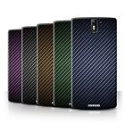 STUFF4 Phone Case/Back Cover for OnePlus One /Carbon Fibre Effect/Pattern