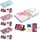 For LG Optimus F60 New PU Leather Bling Diamond Belt Flip Stand Cover Case