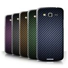 STUFF4 Phone Case/Cover for Samsung Galaxy Mega 5.8 /Carbon Fibre Effect/Pattern