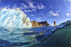 Poster / Leinwandbild A person stand up paddle boarding near... - K. Ladzinski