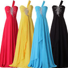UK CHEAP   Maternity Long Evening Formal Party Grad Gown Prom Bridesmaid Dresses
