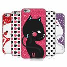 HEAD CASE CATS AND DOTS SILICONE GEL CASE FOR APPLE iPHONE 6 PLUS 5.5