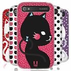 HEAD CASE CATS AND DOTS SILICONE GEL CASE FOR BLACKBERRY CLASSIC Q20
