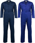 Mens Plain Coveralls | Overalls | Boiler Suit | Workwear | Boilersuit