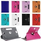 Adjustable 360 Rotating Leather Stand Case Cover For 7 8 9 10 Tablet PC MID