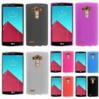 For LG G4 Smooth Ultra Thin TPU Candy Gel Soft Rubber Skin Back Case Cover