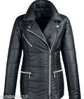 Kaleidoscope-Great Black Textured Biker Jacket Sizes 14-16-20