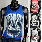 Tank Top Muskelshirt T-Shirt Body Bodybuilding Shirt Tattoo Skull Stringer /21