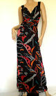 Oli-Lovely Tropical Print Crepe Chiffon Maxi Dress  Sizes 8-10-12   -ref BB4-