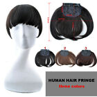20g virgin  human Clip in hair extensions women hair bang Fringe With Temples