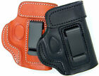 Cebeci Leather REINFORCED MOUTH IWB Concealment Holster ... Choose Gun & Color!