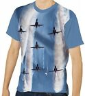 Hawk T1a In Formation Red Arrows Men's Clothing T-Shirts S M L XL 2XL 3XL