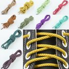 Round Thick Coloring Athletic Shoe Strings Sneakers Plaid Shoe Lace Bootlaces