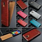 Luxury Vertical Flip Leather Case Hard Cover Skin For Samsung Galaxy S4 S5 S6