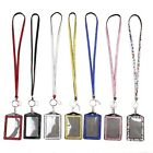 HOT PORTABLE CRYSTAL RHINESTONE LANYARD AND ID BADGE HOLDER FOR PHOTO ID CARDS Z
