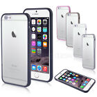 Hard TPU Clear Back Case Cover for Apple iPhone 6 6 Plus with Screen Protector