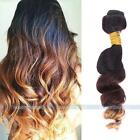 Brazilian Ombre Remy Loose Wave Ombre Bundle Unprocessed Human Hair Extensions