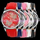 Luxury Elegant Lady Women Genuine Leather Quartz Dress Bracelet Wrist Watch New