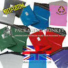 STRONG MAILING POSTAL BAGS - GREY BLUE GREEN RED PINK PURPLE *55mu CO-EX RANGE*