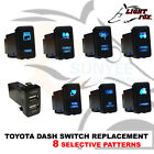 TOYOTA Light Push Rocker Switch Replacement Spot Light Hilux Prado Landcruiser